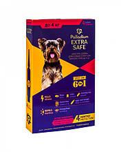 Капли от блох, клещей и гельминтов для собак Palladium (Палладиум) Golden Defence (Extra Safe) весом до 4 кг