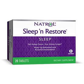 Відновник Natrol Sleepn Restore, 20 таблеток