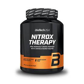 Предтренировочний комплекс BioTech Nitrox Therapy, 680 грам Виноград