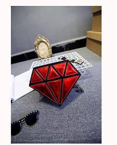Сумка в формі діаманта бриллиант, алмаз, драгоценный камень