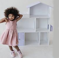 Ляльковий будиночок KiddyRoom 3 фіолетовий