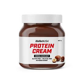 Заменитель питания BioTech Protein Cream, 400 грамм Какао-фундук