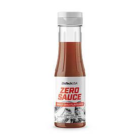 Заменитель питания BioTech Zero Sauce, 350 мл, сладкий чили