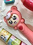 Каталка-ходунки 698-63 розовые, фото 9