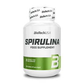Натуральная добавка BioTech Spirulina, 100 таблеток