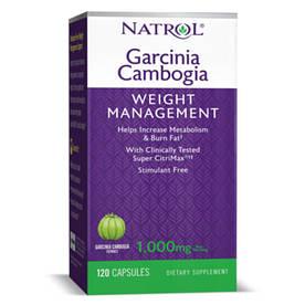 Натуральная добавка Natrol Garcinia Cambogia, 120 капсул