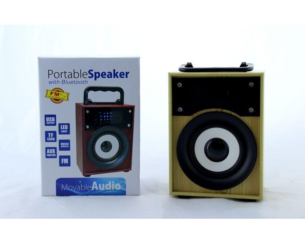 Портативна Акумуляторна MP3 Колонка SPS KTS 668 BT Bluetooth USB FM SD