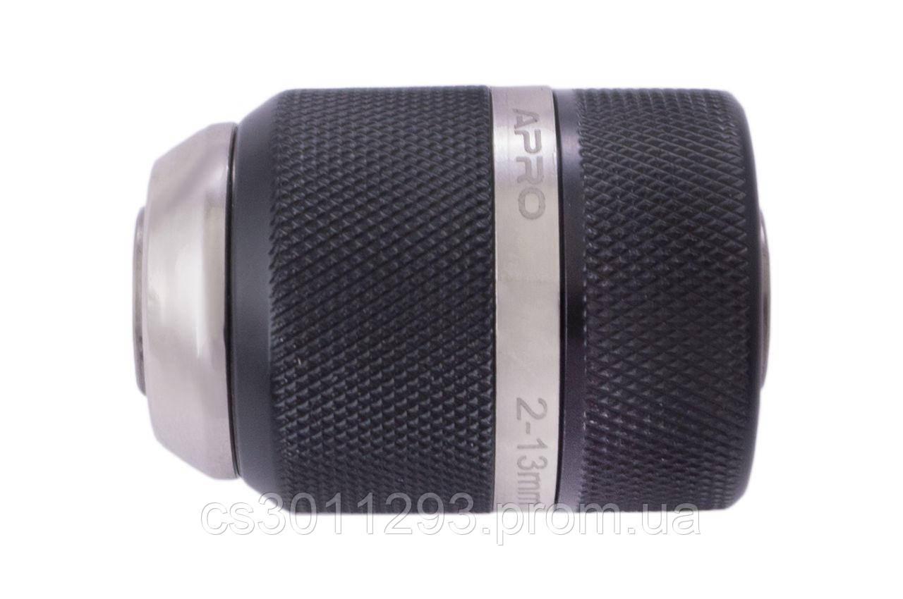 """Патрон для дрилі швидкозажимний Apro - 1/2"""" x 20 x 2-13 мм"""
