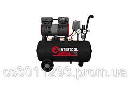 Безмасляний компресор Intertool - 24 л x 1100 Вт Storm PT-0026