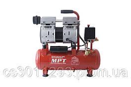 Безмасляний компресор MPT - 10 л x 600 Вт