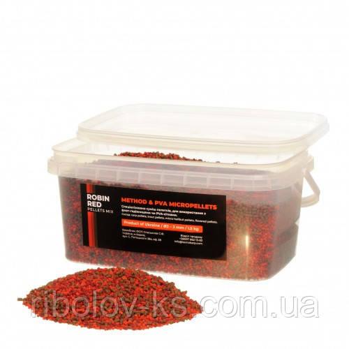 Микропеллетс Технокарп Method & PVA Micropellets Robin Red Mix 1.5kg