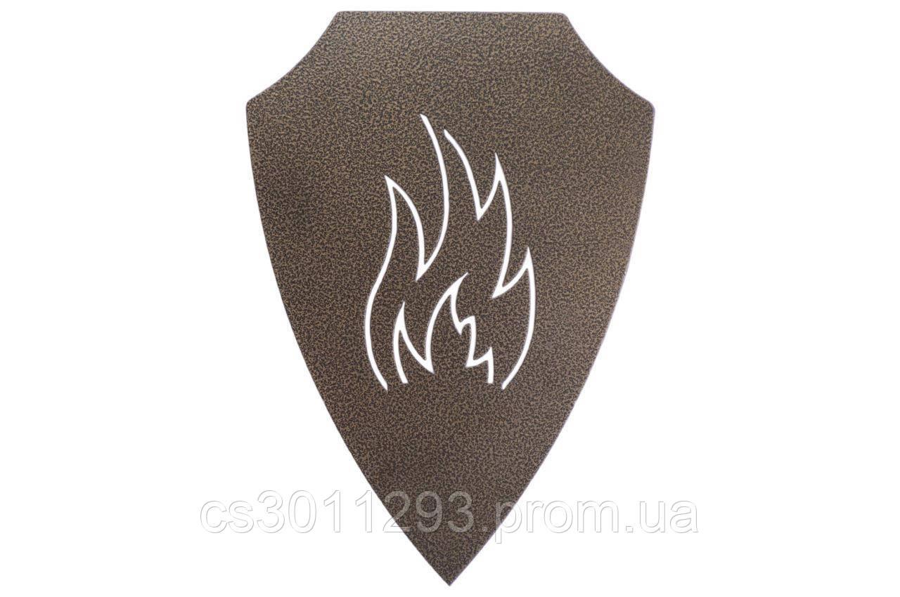 Подставка-щит для шампуров DV - огонь