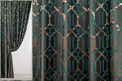 Готові дорогі однотонні щільні штори в спальню,залу,передпокою (колір в асортименті))