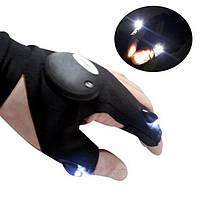 Рукавичка з підсвічуванням на пальцях Hands Free, фото 3