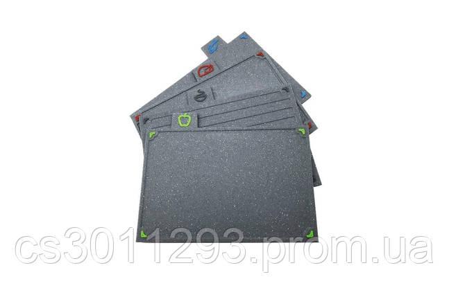 Набір обробних дощок Maestro - 290 x 195 мм граніт (4 шт.) 1 шт., фото 2