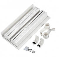Кухонний диспенсер для паперових рушників, харчової плівки і фольги Triple Paper Dispenser, фото 3