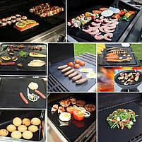 Антипригарный коврик гриль мат BBQ grill sheet 33*40 см, фото 7