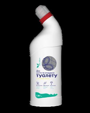 Засіб для миття туалету з ароматом лимону, 1 л ТМ DeLaMark