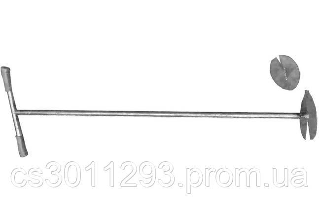 Бур садовый ТМЗ - с 2-мя насадками серый, фото 2