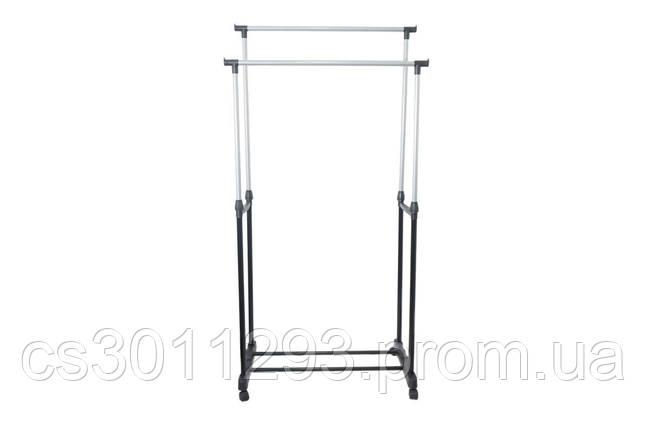 Стійка для одягу PRC - Double-Pole 750 x 320 x 1500 мм Big, фото 2