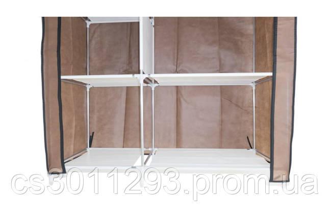 Шкаф тканевый PRC - Storage Wardrobe 1060 x 450 x 1700 мм, фото 2