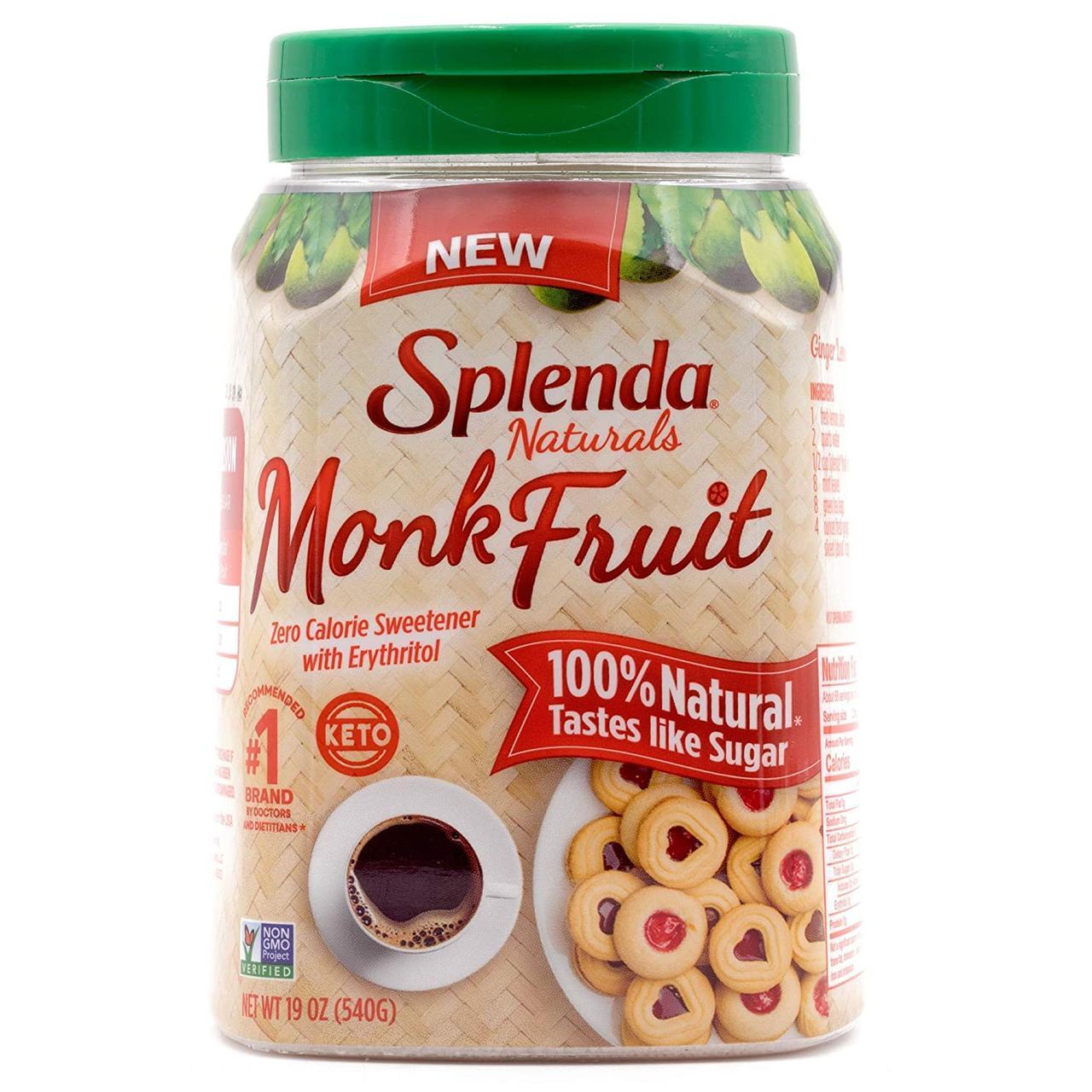 Monk fruit Splenda 540 г США