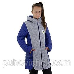 Детская куртка для девочки весна осень размер 146-158