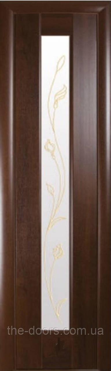 Двери Новый Стиль Рада Р стекло с рисунком