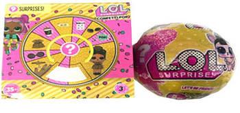 Лялька LOL модель Confetti Pop серія 9 GOLD/С0227