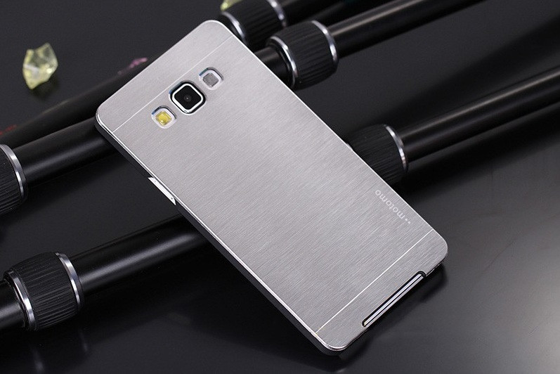 Чехол для Samsung Galaxy J7 J700 motomo металлический