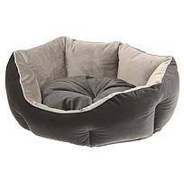 Лежанка для кошек и собак QUEEN 44 х 40 х h 16 см - 45, Серый