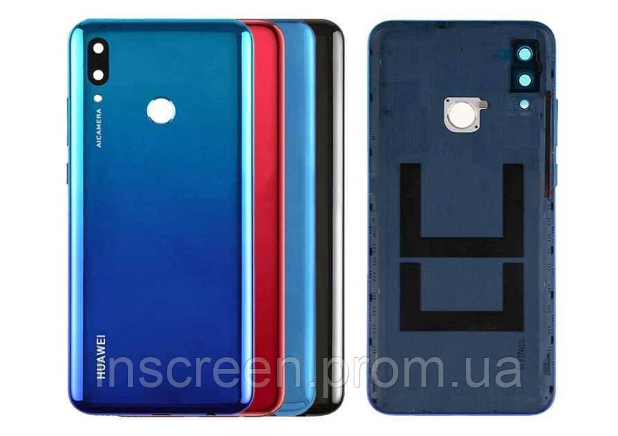 Задняя крышка Huawei P Smart 2019 (POT-L21, POT-LX1) красная, Coral Red, Оригинал Китай