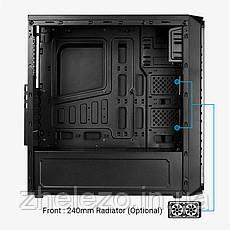 Корпус AEROCOOL SI-5200 RGB BG Black без БП, фото 2