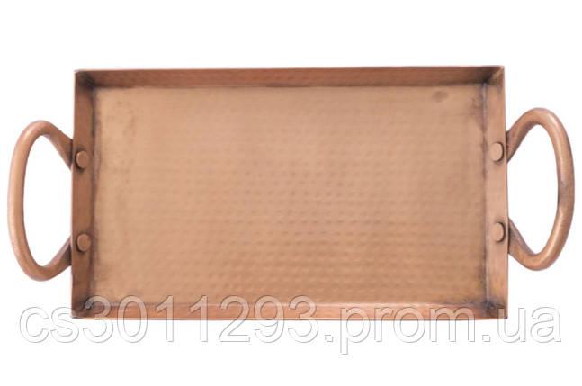 Блюдо Empire - 245 x 145 мм мідна 1 шт., фото 2