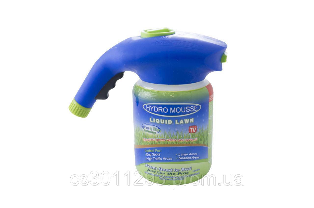 Жидкий газон PRC - Hydro Mousse распылитель + жидкость