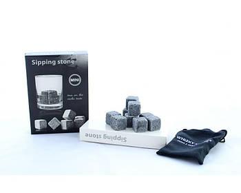 Камені Whiskey Stones-2 (9 шт) Камені для віскі, кубики для віскі, багаторазовий лід