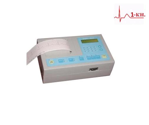 Электрокардиограф ЭК1Т МИДАС, 1-канальный, аппарат экг медицинский портативный (кардиограф)