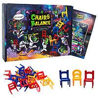 """Настольная игра """"Chairs Balance"""" Strateg 30408"""