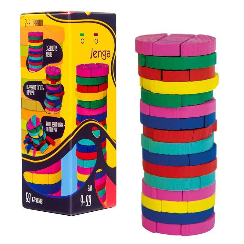 "Настільна гра ""Colors Jenga"" Strateg 30816"