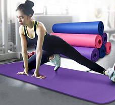 Коврик для фитнеса Optima Plus 8 1800х600х8мм, фото 3