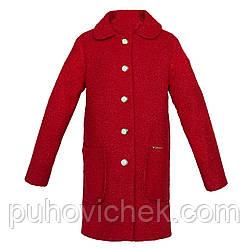 Кашемировое детское пальто на девочку весеннее размеры 140-158