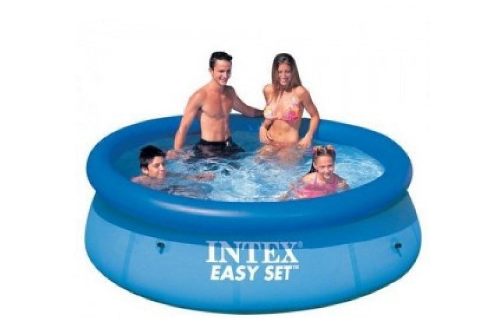 Семейный бассейн интекс 28120 305 на 76 см Наливной бассейн Быстрый монтаж