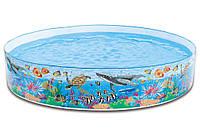 Бассейн каркас 58472 коралловый риф, детский каркасный 244-46 см Интекс 1700 л