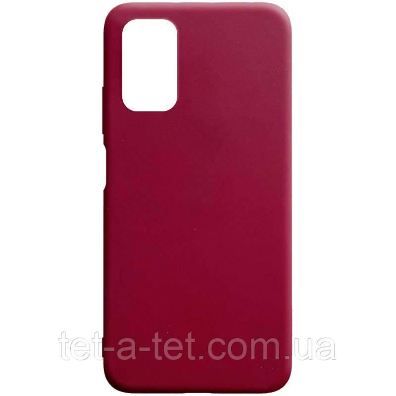 Чохол силіконовий Candy для Xiaomi Redmi 9T Burgundy
