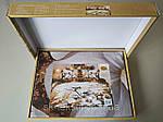 Комплект постельного белья ELWAY (Польша) 3D LUX Сатин Евро Подарочная упаковка (137), фото 2