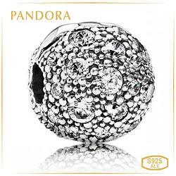 """Пандора Клипса """"Космические звезды"""" Pandora 791286CZ"""