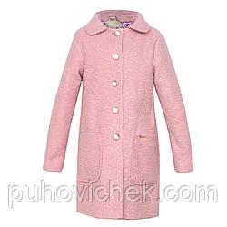 Весеннее пальто для девочки модное размеры 140-158