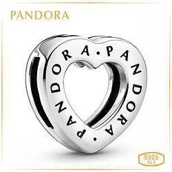 """Пандора Клипса Reflex """"Сердце Pandora""""  798741C00"""