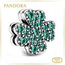 Пандора Клипса Reflex Клевер с четырьма листьями Pandora 798601C01