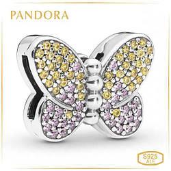 Пандора Клипса Reflex Ослепительная бабочка Pandora 797864CZM